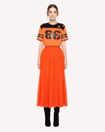 REDValentino QR0MG10C47A RR0 T-Shirt Woman f