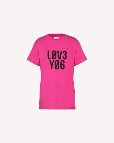 REDValentino QR0MG10E47B FA9 T-Shirt Woman a