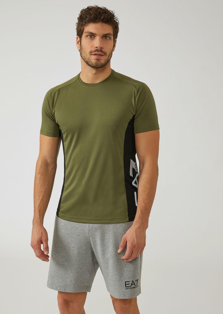 2aebb73c1d Breathable Ventus 7 technical fabric T-shirt   Man   Ea7