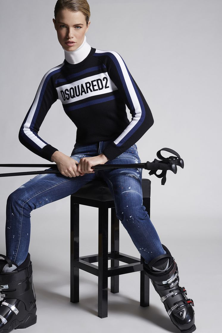 DSQUARED2 Wool Dsquared2 Ski Pullover Pullover Woman