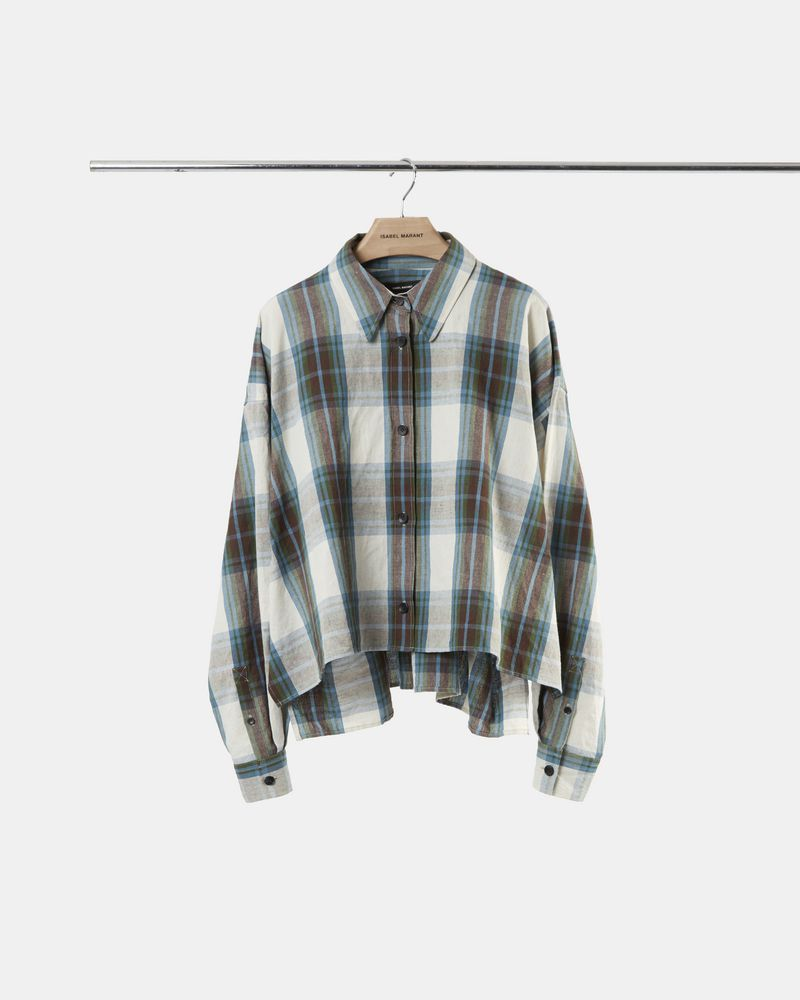 MACAO checked shirt ISABEL MARANT
