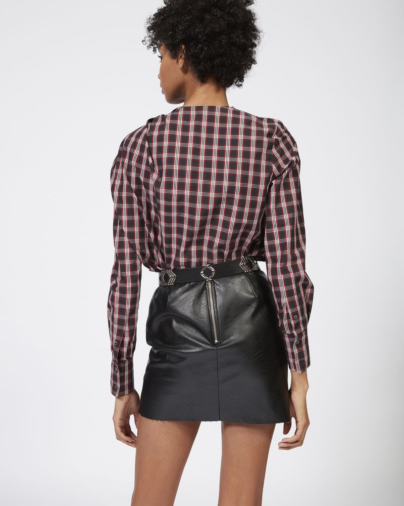 OLYMPE checked top  ISABEL MARANT ÉTOILE