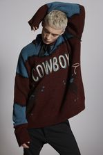 DSQUARED2 Cowboy Wool Pullover Pullover Man