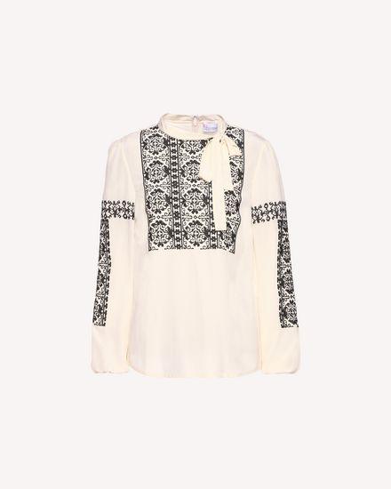REDValentino Shirt Woman QR0AB03H43N 0AN a