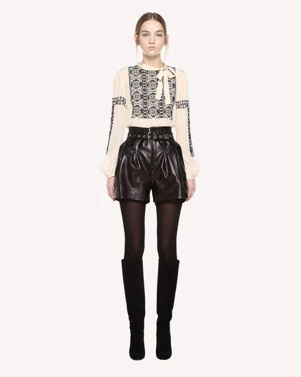 REDValentino Shirt Woman QR0AB03H43N 0AN f