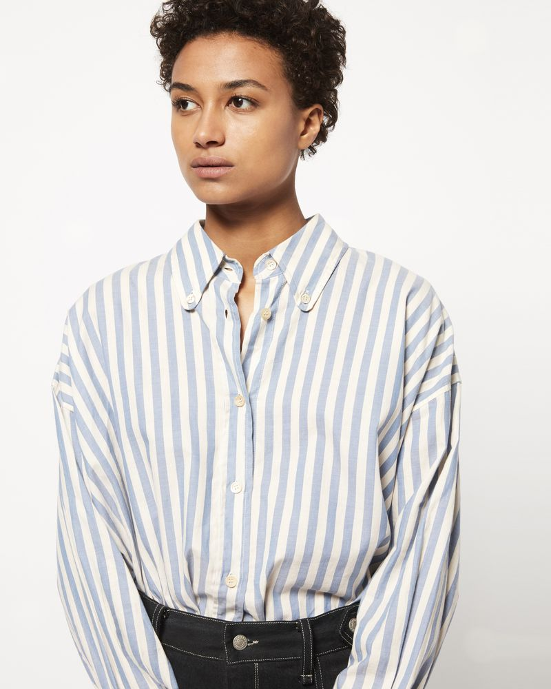 MACAO Camicia a righe ISABEL MARANT