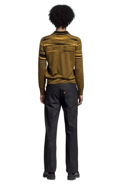 MISSONI Men's polo Ochre Man - Front