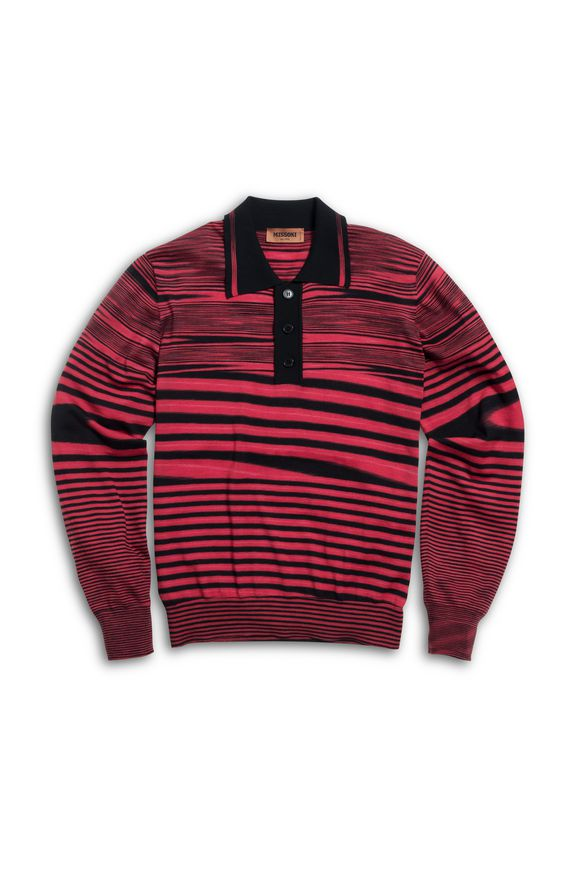 MISSONI Men's polo Red Man
