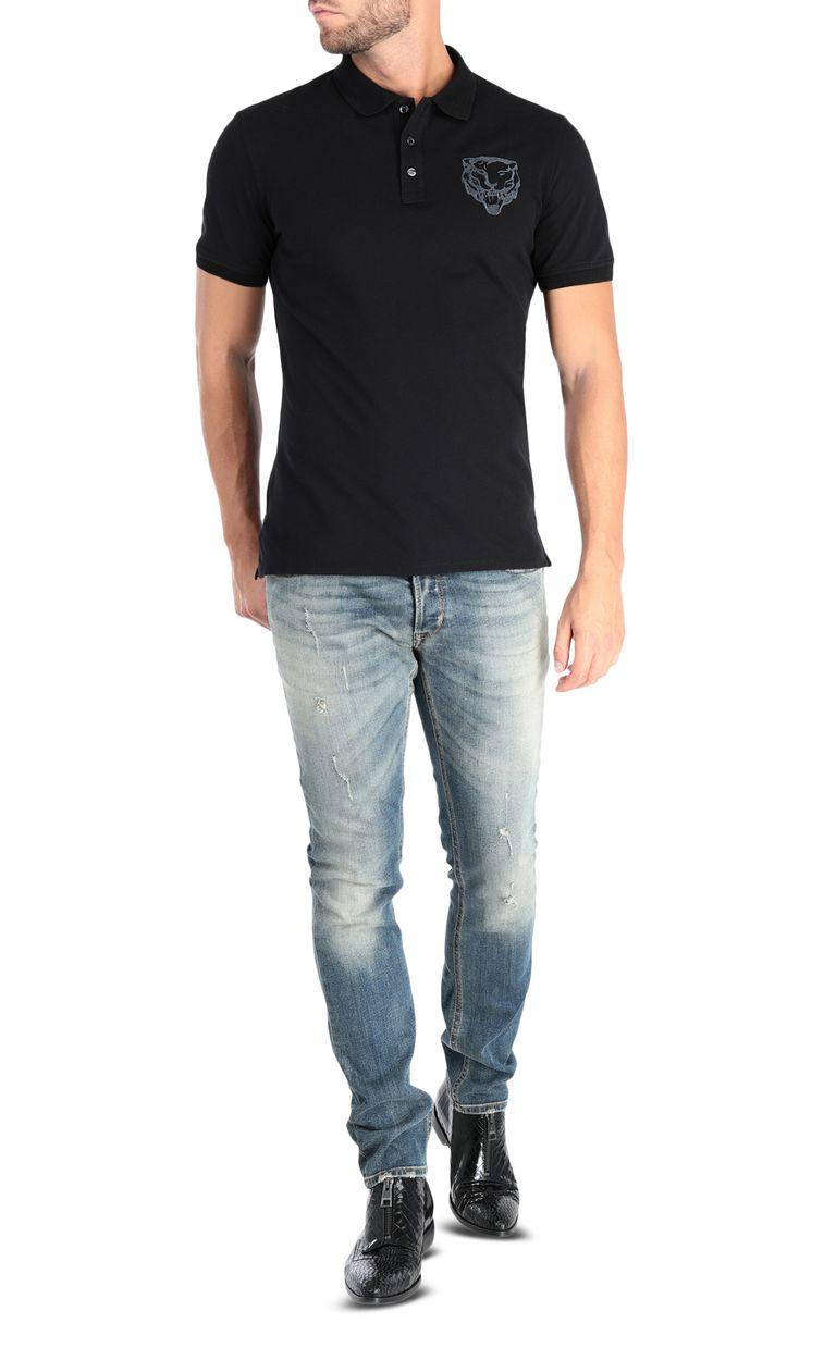 JUST CAVALLI Short-sleeve polo shirt Polo shirt [*** pickupInStoreShippingNotGuaranteed_info ***] r