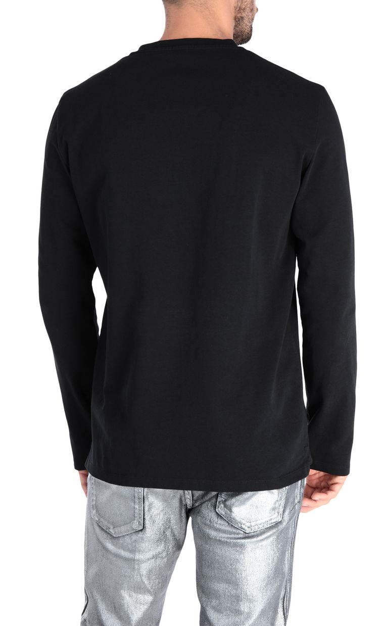JUST CAVALLI Rebel Control T-shirt Long sleeve t-shirt [*** pickupInStoreShippingNotGuaranteed_info ***] d