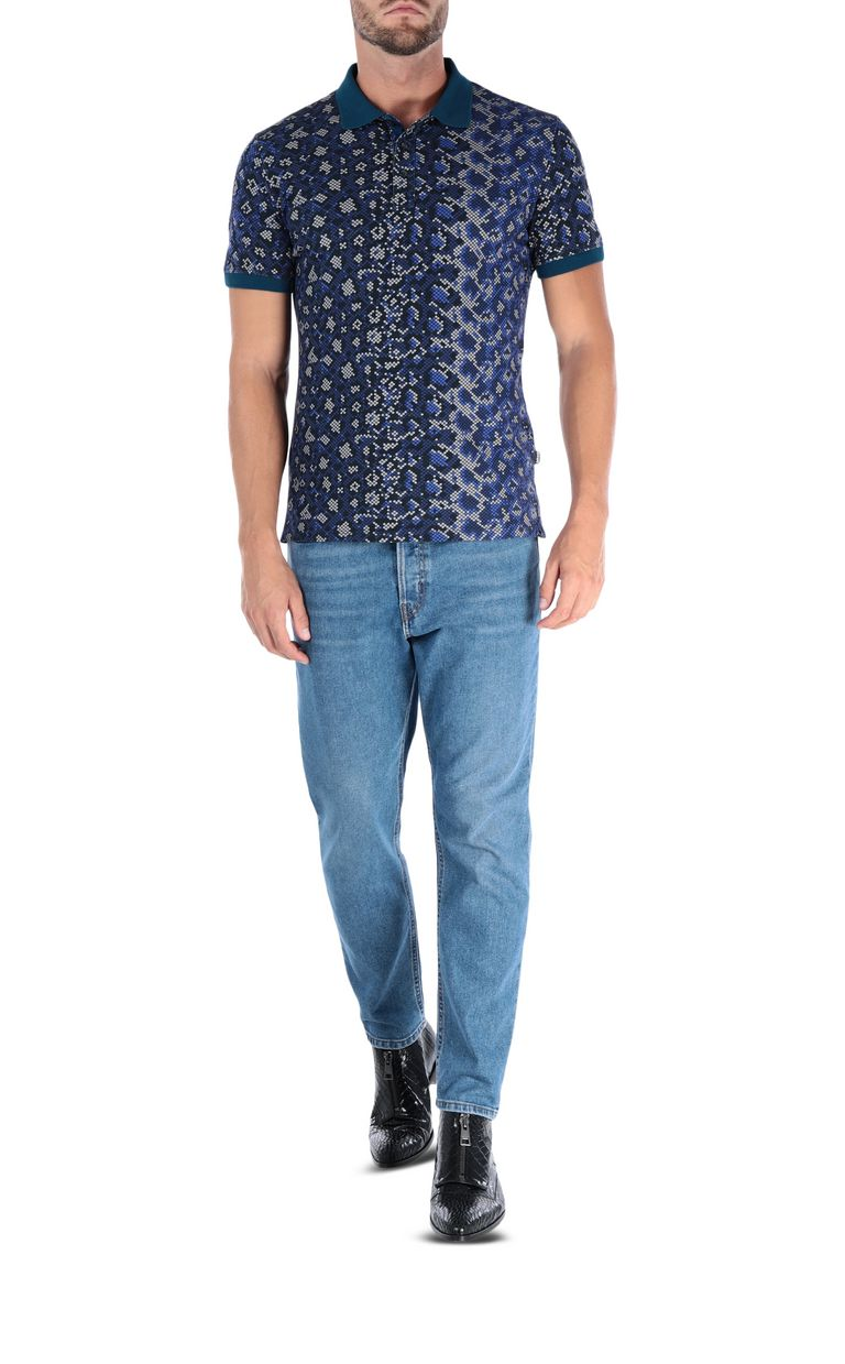 JUST CAVALLI Lion polo shirt Polo shirt [*** pickupInStoreShippingNotGuaranteed_info ***] r