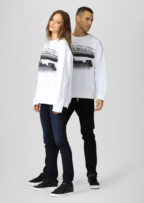 Emporio Armani Boarding capsule collection sweatshirt