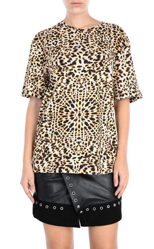 JUST CAVALLI T-shirt maniche corte [*** pickupInStoreShipping_info ***] T-shirt Leopard f