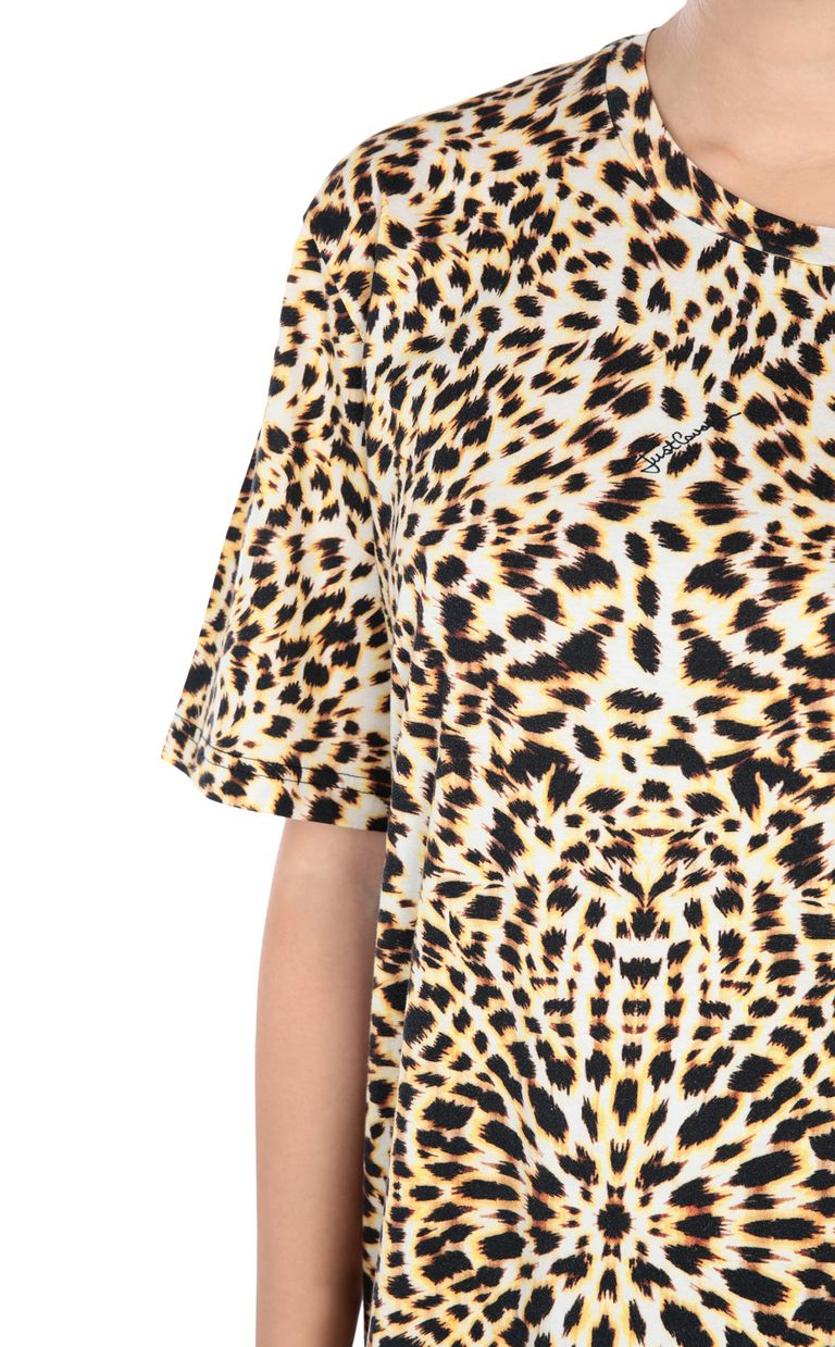 JUST CAVALLI Leopard T-shirt Short sleeve t-shirt [*** pickupInStoreShipping_info ***] e