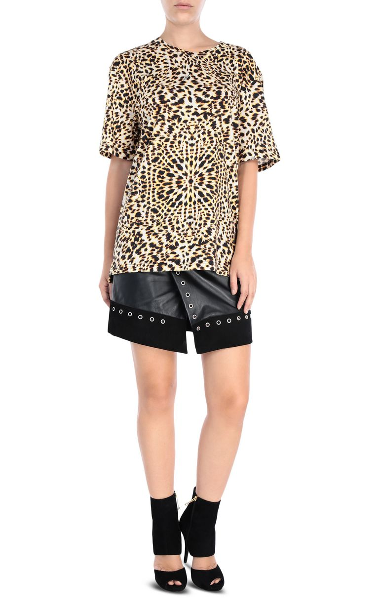 JUST CAVALLI Leopard T-shirt Short sleeve t-shirt [*** pickupInStoreShipping_info ***] r