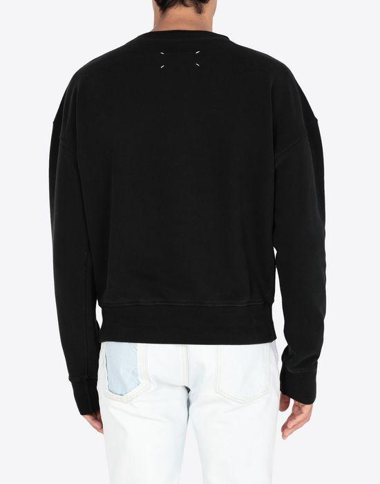 MAISON MARGIELA IN printed jersey sweatshirt Sweatshirt [*** pickupInStoreShippingNotGuaranteed_info ***] e