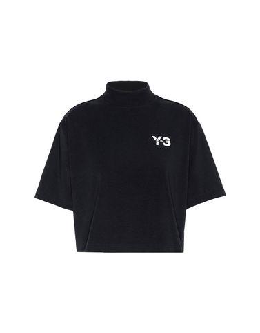 Y-3 SIGNATURE CROP TEE