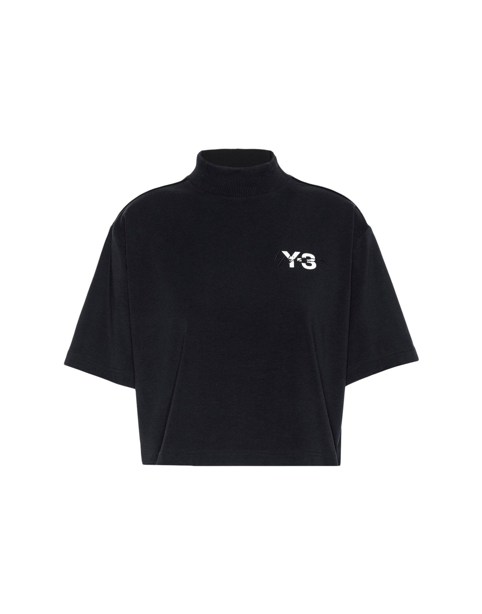 Y-3 Y-3 SIGNATURE CROP TEE Short sleeve t-shirt Woman f