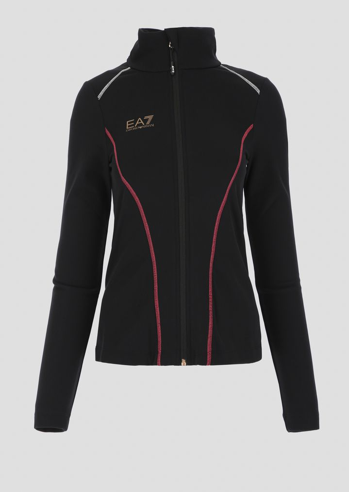 ... Breathable stretch technical ski fleece with zip. EA7 3ba3b8383