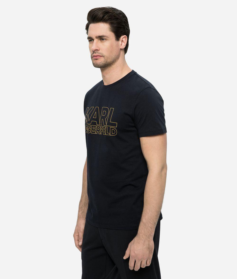 KARL LAGERFELD KARL LOGO T-SHIRT T-shirt Man d