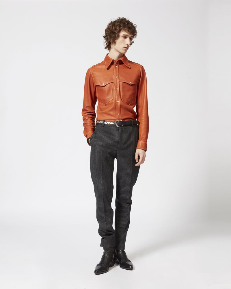 NEO leather shirt ISABEL MARANT