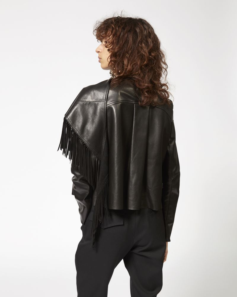 NESTOR leather jacket ISABEL MARANT
