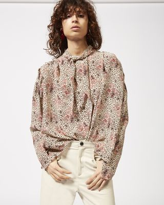 ISABEL MARANT TOP Woman HIGI printed blouse r