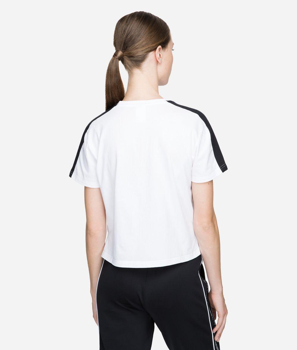 KARL LAGERFELD PUMA x KARL T-Shirt in Cropped-Passform T-Shirt Damen d