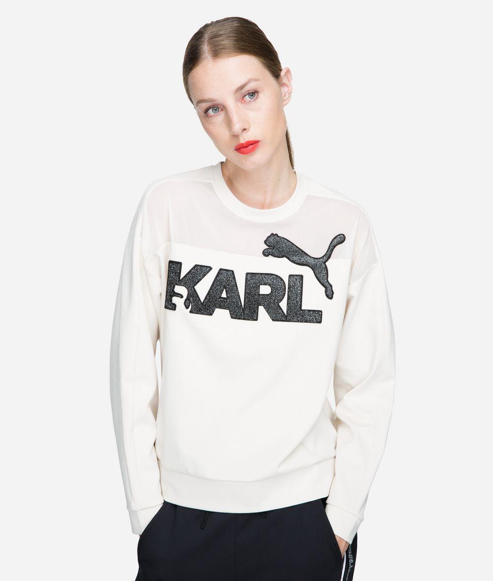 KARL LAGERFELD PUMA X KARL Sweatshirt T-Shirt Damen f