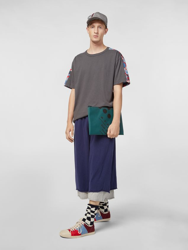 Marni T-shirt in cotton jersey Clarabella print Man - 5