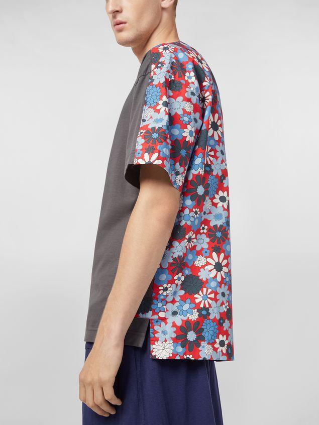 Marni T-shirt in cotton jersey Clarabella print Man - 4