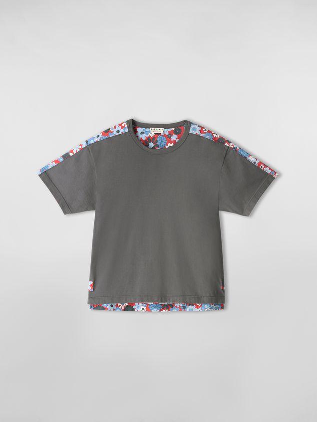 Marni T-shirt in cotton jersey Clarabella print Man - 2