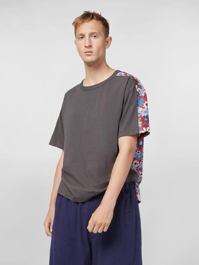 Marni T-shirt in cotton jersey Clarabella print Man - 1