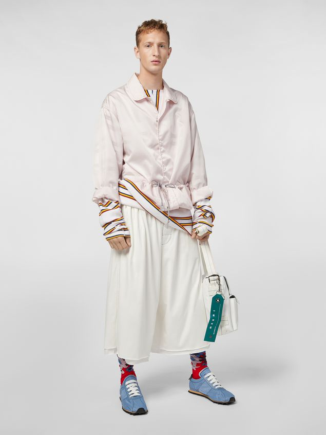 Marni T-shirt in ribbed yarn-dyed striped cotton Man - 5