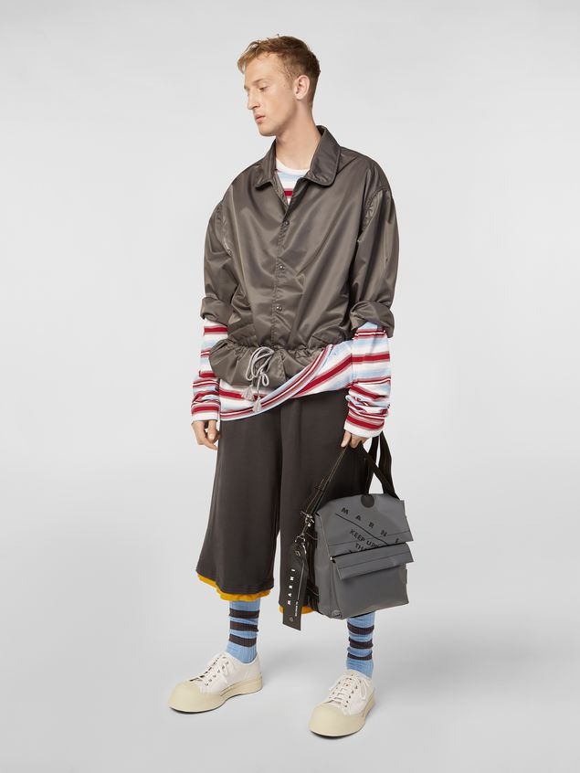 Marni T-shirt in striped cotton jersey Man - 5