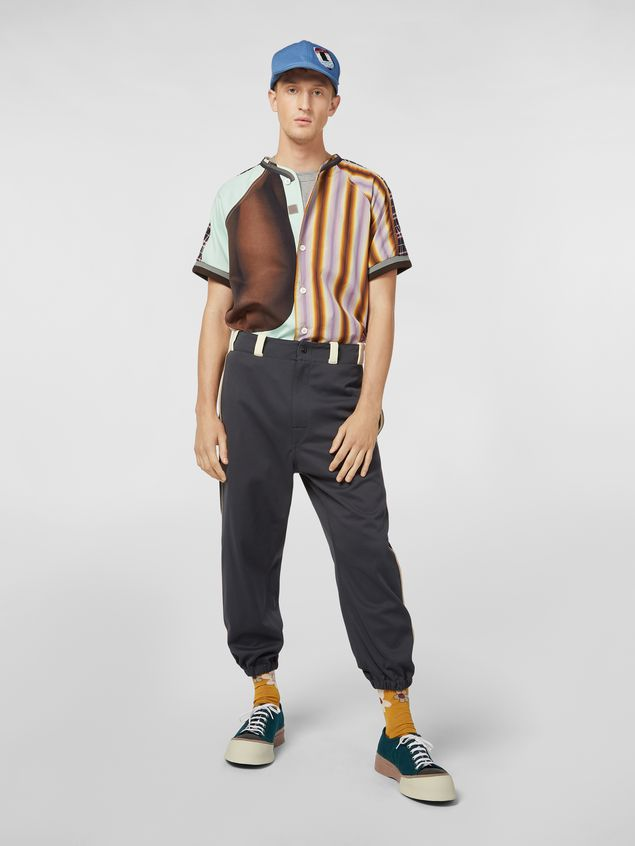 Marni T-shirt in cotton jersey with print by the artist Florian Hetz  Man - 5