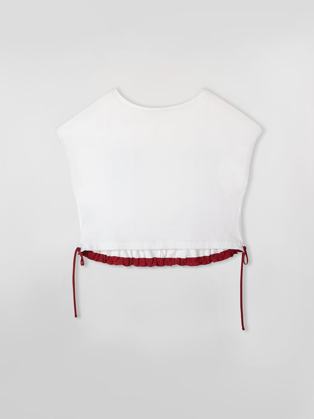 Marni Jersey T-shirt with drawstring Woman - 2
