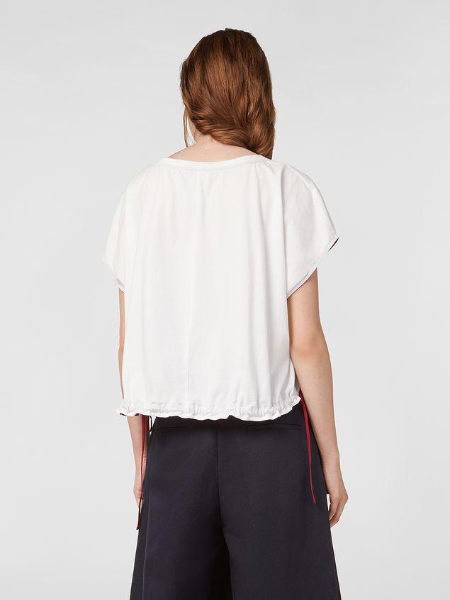 Marni Jersey T-shirt with drawstring Woman - 3