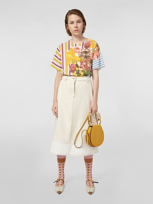 Marni Jersey T-shirt with Craven print Woman - 5