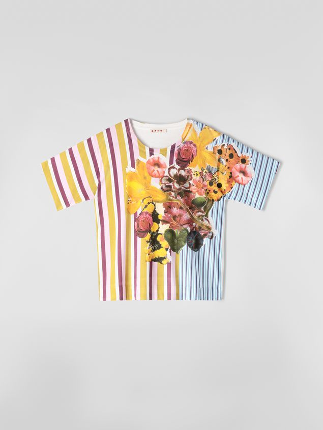 Marni Jersey T-shirt with Craven print Woman - 2