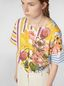 Marni Jersey T-shirt with Craven print Woman - 4