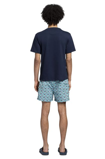 MISSONI Beachwear T-Shirt Dark blue Man - Front