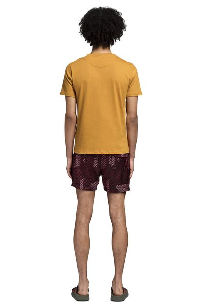 MISSONI Beachwear T-Shirt Ochre Man - Front