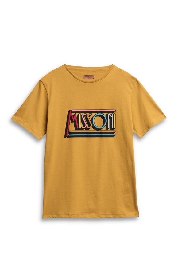 MISSONI Beachwear T-Shirt Ochre Man