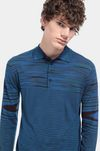 MISSONI Long-sleeved polo shirt Man, Detail