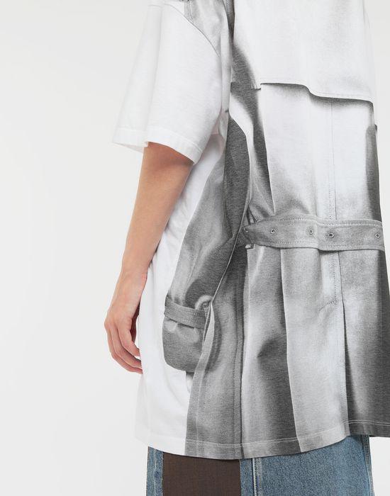 MAISON MARGIELA Trompe-l'œil' printed jersey T-shirt Short sleeve t-shirt Woman b