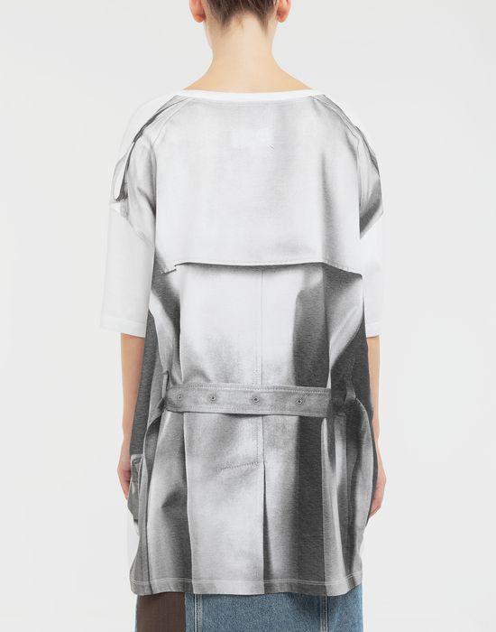 MAISON MARGIELA Trompe-l'œil' printed jersey T-shirt Short sleeve t-shirt Woman e