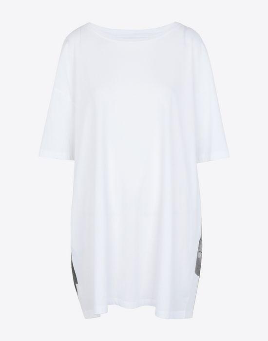 MAISON MARGIELA Trompe-l'œil' printed jersey T-shirt Short sleeve t-shirt Woman f