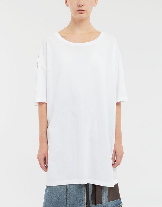 MAISON MARGIELA Trompe-l'œil' printed jersey T-shirt Short sleeve t-shirt Woman r