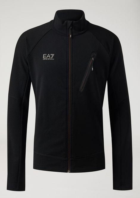 Ventus 7 sweatshirt with full zip fastening